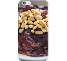 Warm Brie With Caramelized Onions and Pine Nuts iPhone Case/Skin