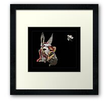 Taxi in Spain Framed Print