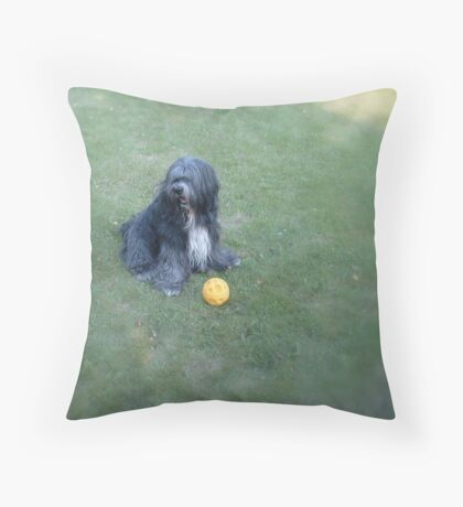 Where are everybody? Throw Pillow