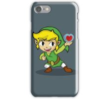 Toon Link: a Heart Container iPhone Case/Skin