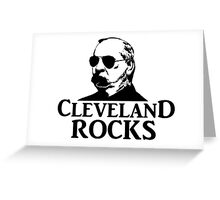 Cleveland Rocks! Greeting Card