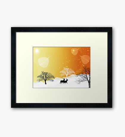 Nature sauvage Framed Print