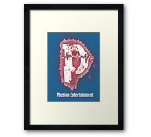 Phusion Wear - Captain America Framed Print