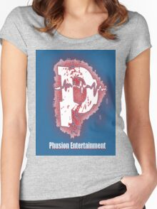 Phusion Wear - Captain America Women's Fitted Scoop T-Shirt