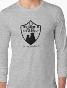 Springfield PD Long Sleeve T-Shirt