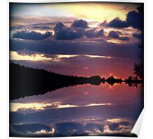 Rorschach Sunset Poster