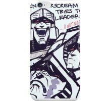 Megatron/Starscream funny print iPhone Case/Skin