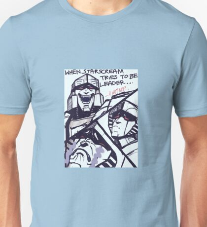 Megatron/Starscream funny print Unisex T-Shirt