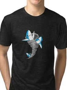 Left Sharknado Tri-blend T-Shirt