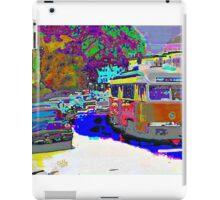City Scene 1950s iPad Case/Skin