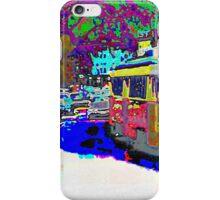 City Scene 1950s iPhone Case/Skin
