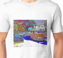 City Scene 1950s Unisex T-Shirt