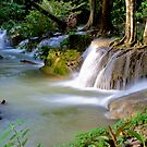 Krengkavia waterfall, Thailand by Naomi Brooks