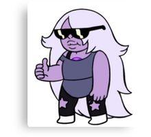 Steven Universe Amethyst With Sunglasses Canvas Print