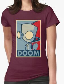 DOOOOOM - Gir Womens Fitted T-Shirt