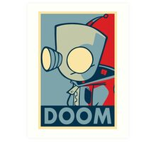 DOOOOOM - Gir Art Print