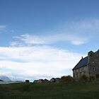 Old church by Lake Tekapo by Chen Lim