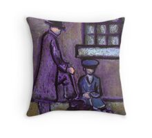 Shoeshine Throw Pillow