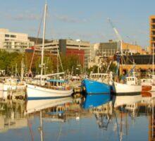 Victoria Dock, Hobart, Tasmania Sticker