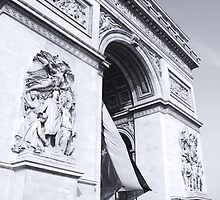 Le Arc De Triumph by David Morgan