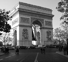 Le Arc De Triumph, Portrait by David Morgan