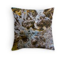 Beach sculpture Throw Pillow