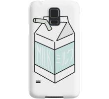 Milk Carton - light teal Samsung Galaxy Case/Skin
