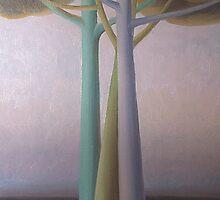 Tre alberi by Giampaolo Ghisetti