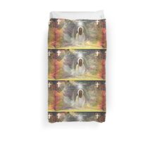 HAPPY EASTER  DEAR RB FRIEND !!! Happy Honaka  Duvet Cover