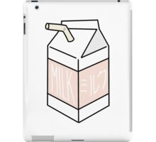 Milk Carton - peachy iPad Case/Skin