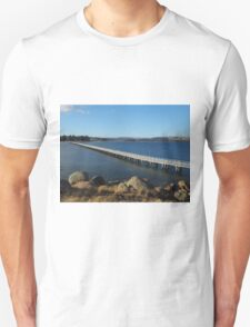 Causeway, Victor Harbor to Granite Island T-Shirt