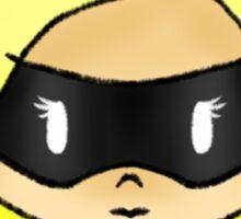 Black Canary miniU Sticker
