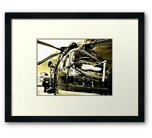 Avalon Airshow - The Mean Machine Framed Print