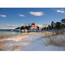 Marquette Harbor Light, Marquette, Michigan Photographic Print
