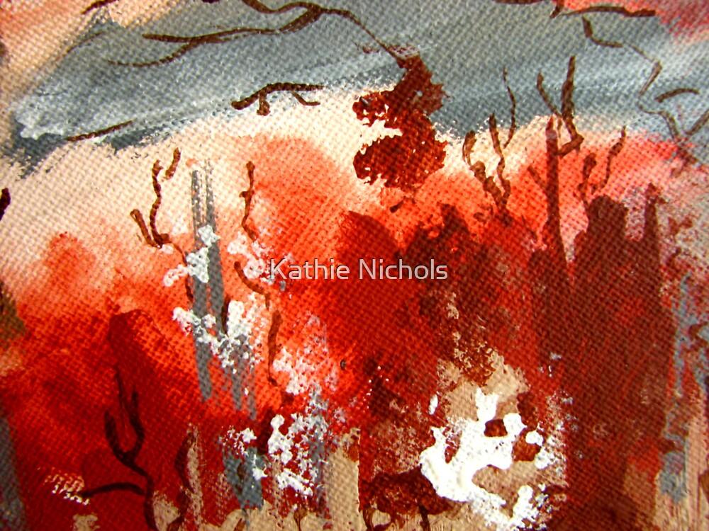 Earth, Wind & Fire I by Kathie Nichols