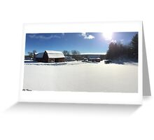 From The Snowy Hill Greeting Card