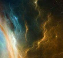 Galactic TARDIS Sticker