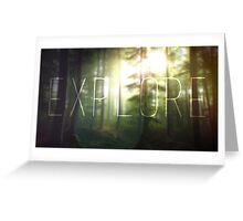 Explore ~ Greeting Card
