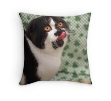 YUMMY! Throw Pillow