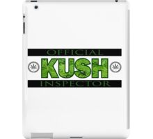 KUSH INSPECTOR iPad Case/Skin