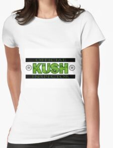 KUSH INSPECTOR Womens Fitted T-Shirt