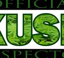 KUSH INSPECTOR Sticker