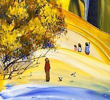 The traveller by Adam Bogusz