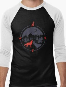 Call of the North... Men's Baseball ¾ T-Shirt