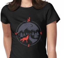 Call of the North... Womens Fitted T-Shirt