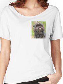 Affenpinsher rare dog breed Women's Relaxed Fit T-Shirt