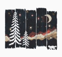 Starry Night in the Mountains... One Piece - Long Sleeve