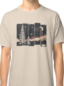 Starry Night in the Mountains... Classic T-Shirt