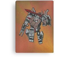 GRIMLOCK in action Canvas Print