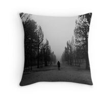 Lost in Vienna Throw Pillow
